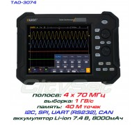 TAO3074 осциллограф OWON. 4 х 70МГц