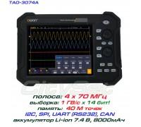 TAO3074A осциллограф OWON. 4 х 70МГц