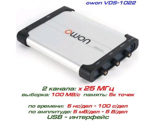 VDS1022 USB-осциллограф 2 х 25 МГц