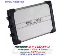 VDS6102 USB-осциллограф 2 х 100 МГц, Android, iOS. Linux, WiFi