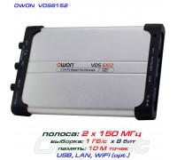 VDS6152 USB-осциллограф 2 х 150 МГц, Android, iOS. Linux, WiFi