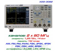 XDG3082 генератор OWON, 2 x 80 МГц