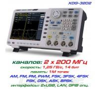 XDG3202 генератор OWON, 2-х канальный, 200 МГц