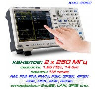 XDG3252 генератор OWON, 2 x 250 МГц