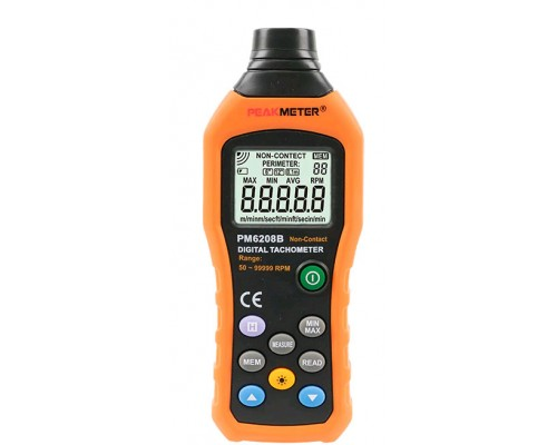 PM6208B тахометр, до 99999 rpm