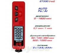 ET330 red толщиномер краски, Fe/NFe, до 1500 мкм