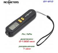 GY910 толщиномер краски, Fe/NFe, до 1300 мкм
