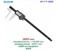 SHAHE 5117-300 цифровой трубный штангенциркуль, до 300 мм