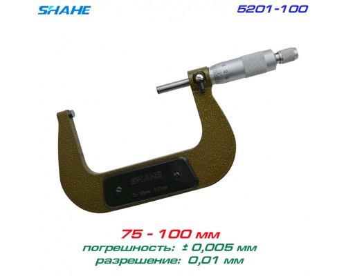SHAHE 5201-100 микрометр 75-100мм