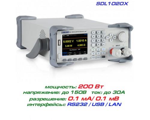 SDL1020X программируемая нагрузка Siglent, 200 Вт