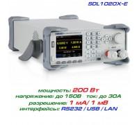 SDL1020X-E программируемая нагрузка Siglent, 200 Вт