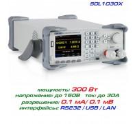 SDL1030X программируемая нагрузка Siglent, 300 Вт