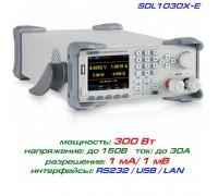 SDL1030X-E программируемая нагрузка Siglent, 300 Вт