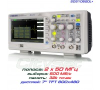 SDS1052DL+  осциллограф цифровой