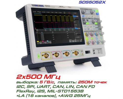 SDS5052X осциллограф Siglent, 2x500МГц