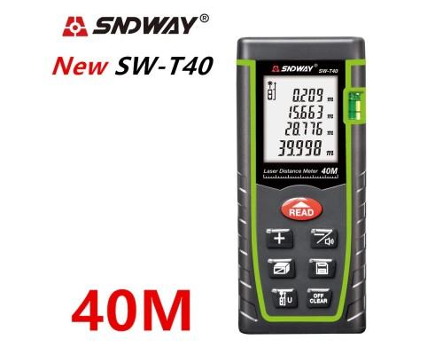 SNDWAY SW-T40 лазерная рулетка до 40 метров