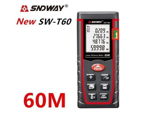 SNDWAY SW-T60 лазерная рулетка до 60 метров
