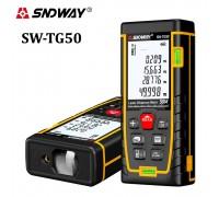 SNDWAY SW-TG50 лазерная рулетка до 50 метров