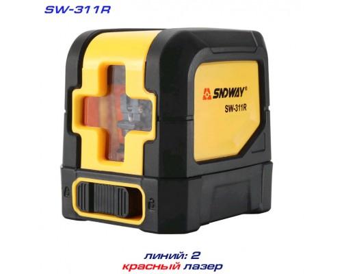 SNDWAY SW-311R лазерный уровень 1H+1V