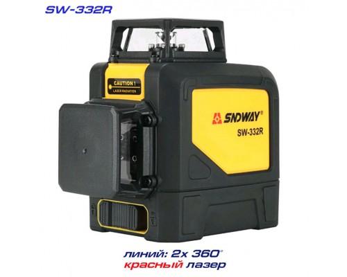 SNDWAY SW-332R лазерный уровень 1H+1V