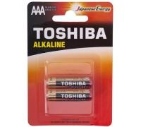 БатарейкаTOSHIBA Alkanine, 1.5В,тип АAA(R03),