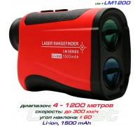 UNI-T LM1200 лазерный дальномер, от 4 м до 1200 м