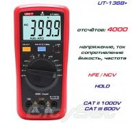 UNI-T UT136B+, мультиметр, ток, напряжение, сопротивление, ёмкость, частота, тест транзисторов, NCV