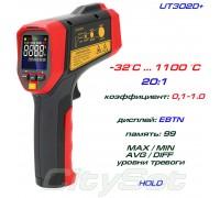 UT302D+ пирометр UNI-T, до 1100 °С круговой лазерный целеуказатель