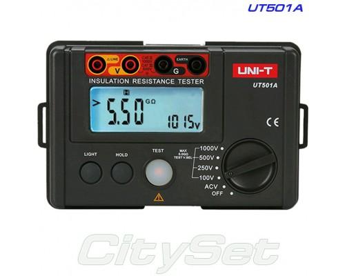UT501A, мегаомметр UNI-T