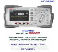 UNI-T, UT8804E, профессиональный мультиметр TrueRMS, погрешность: ±0,025%, отсчётов: 60000