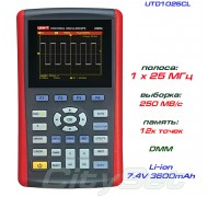 UTD1025CL осциллограф портативный, 1 канал х 25 МГц