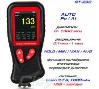 GT230 толщиномер краски, Fe/NFe, до 1300 мкм