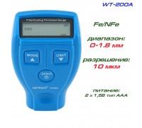 WT200A толщиномер автомобильный, Fe/NFe, до 1800 мкм