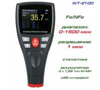 WT2100 толщиномер краски, Fe/NFe, до 1500 мкм