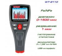 WT2110 толщиномер краски, Fe/NFe, до 1500 мкм