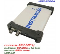 ISDS2062A USB-осциллограф 2 х 20МГц