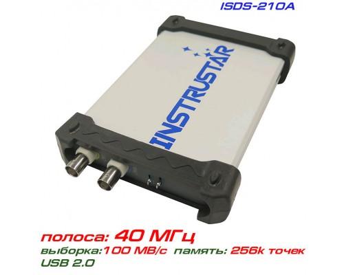 ISDS210A USB-осциллограф 2 х 40МГц