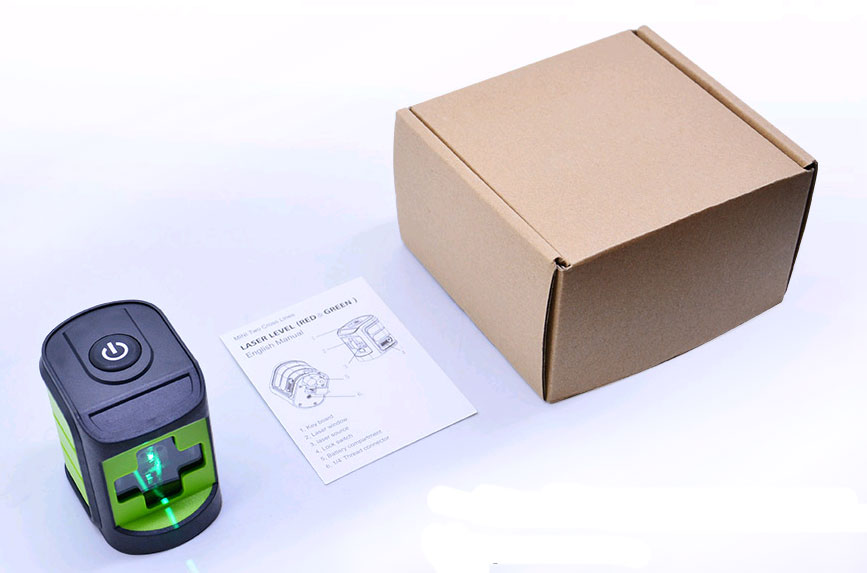 Стандартная комплектация лазерного уровня A2G