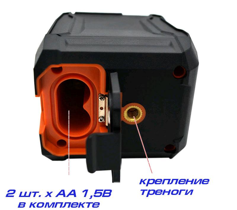 CLUBIONA MD02R батарейный отсек лазерного уровня с зелёным лазером