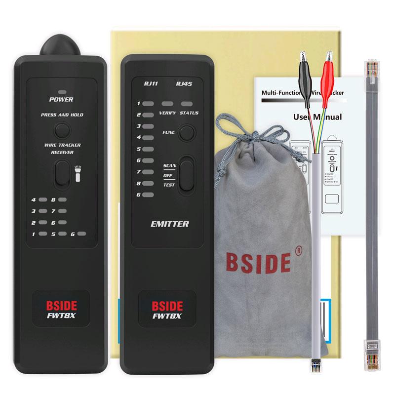 кабельный тестер FWT8X: стандартна поставка