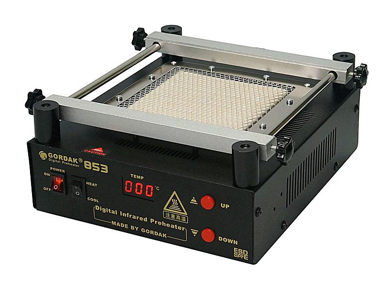 Преднагреватель платGORDAK 853: оснащен керамическим нагревателем