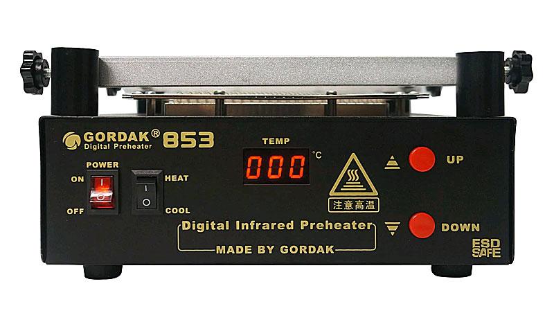 Преднагреватель платGORDAK 853: рабочая область: 160х160