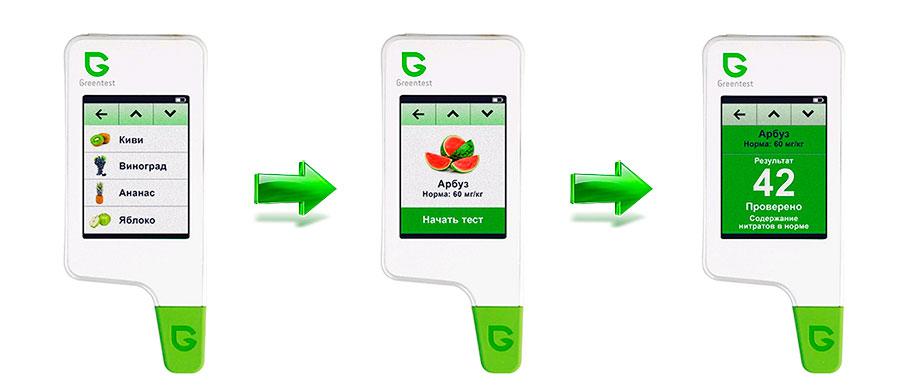 Greentest 2F измерение уровня нитратов