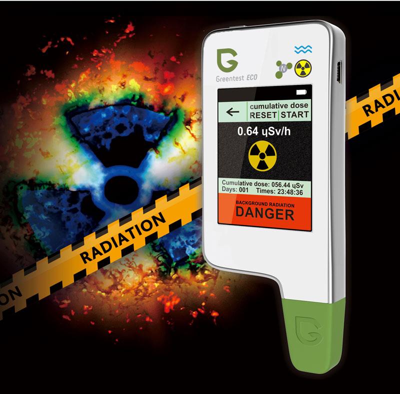 Greentest ECO 4 измерение уровня радиоционного фона