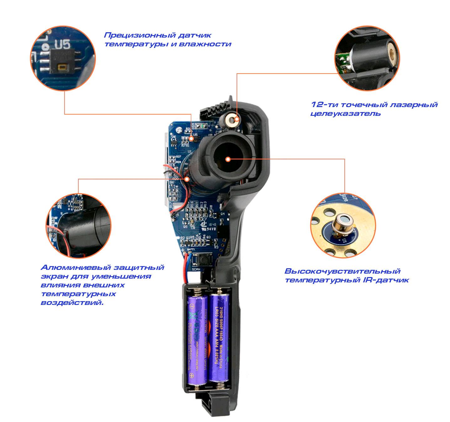 Измерение пирометром IR01A Mestek - быстрые и точные