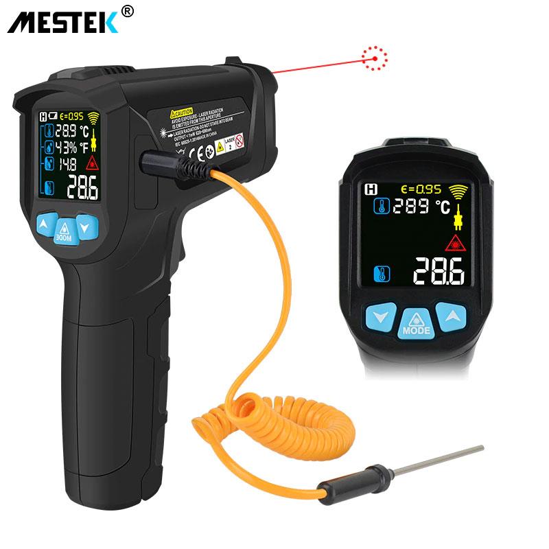 Измерение пирометром IR02C Mestek: безопасные, быстрые и точные измерения