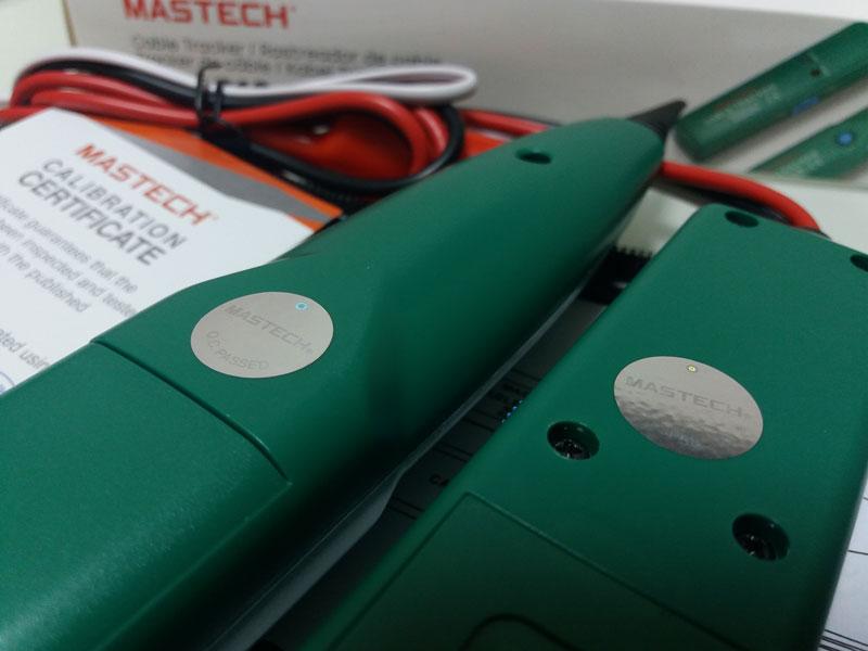 Комплектация трассоискателя MastechMS-6812: