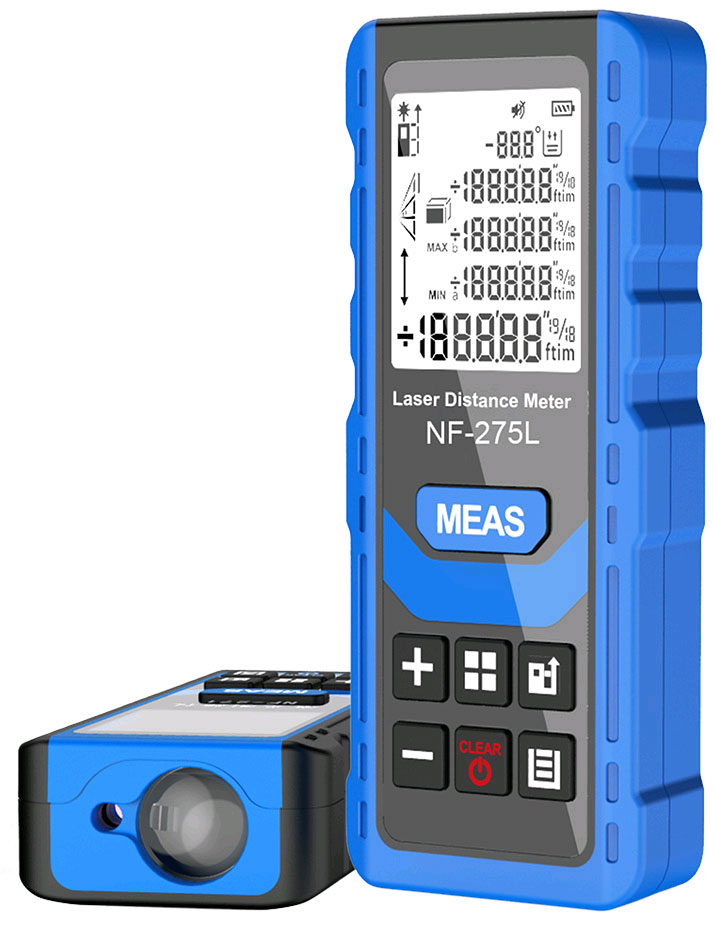 Внешний вид лазерной рулетки Noyafa, NF-275L до 60 метров