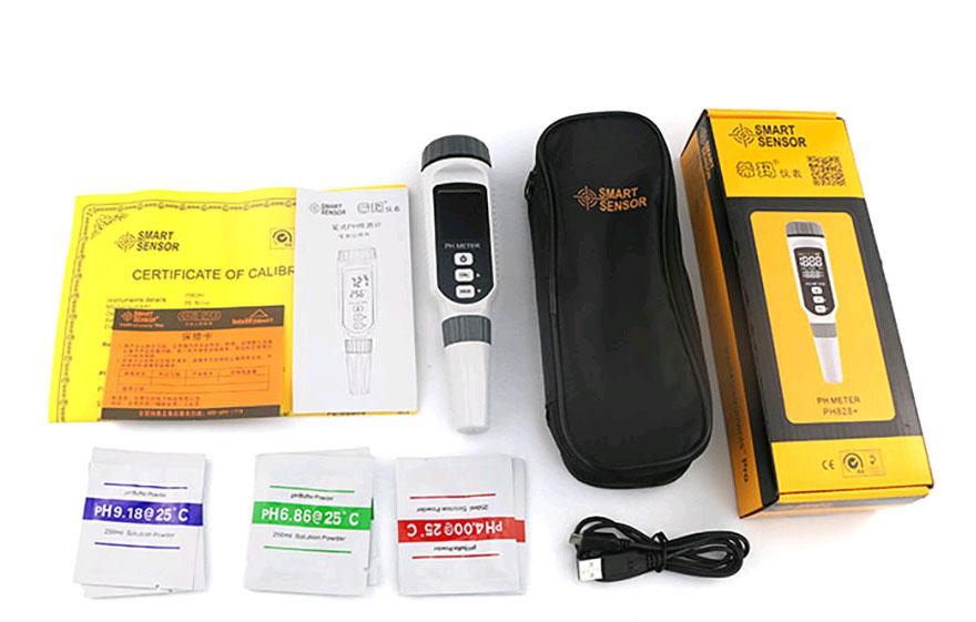 pH-метер PH828: стандартная комплектация