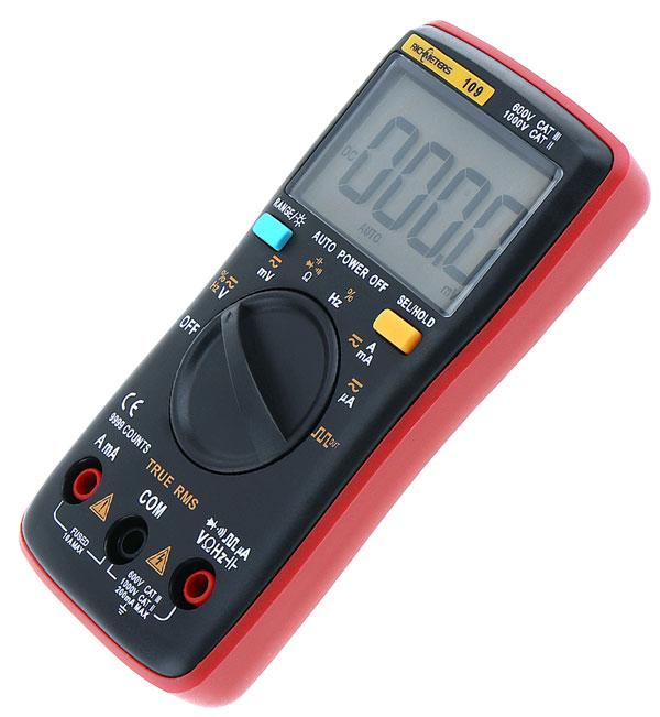 RM109: внешний вид цифрового мультиметра Richmeters